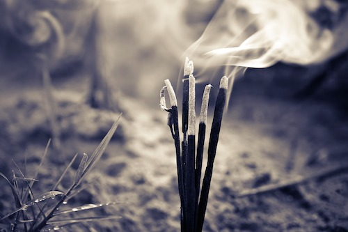 Burning-incense-spirit