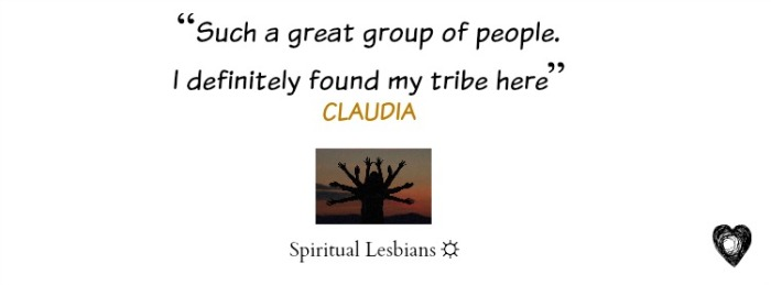 We are, the Spiritual Lesbians