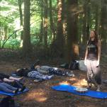 peaceful-drumming-forest-lovefit-festival