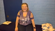 Happy client at Romford Mind Body Soul Event