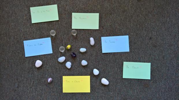 Spiritual workshop activities